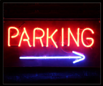 Parking Neon Sign 1